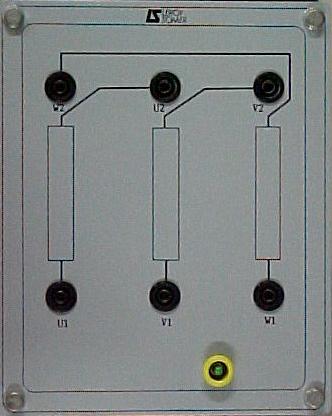Plaque à bornes d'une machine à rotor bobiné